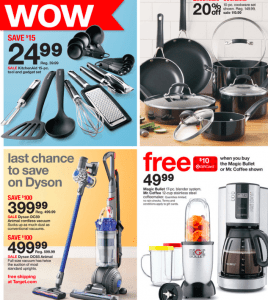 target weekly ad kitchen appliances