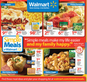 walmart simple recipes