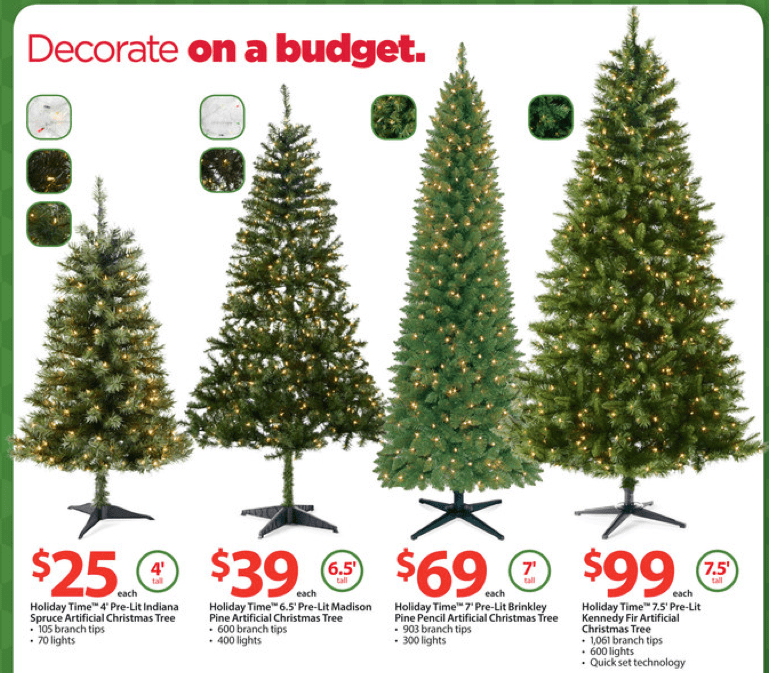 walmart ad christmas decoration ideas - Black Friday Christmas Decorations