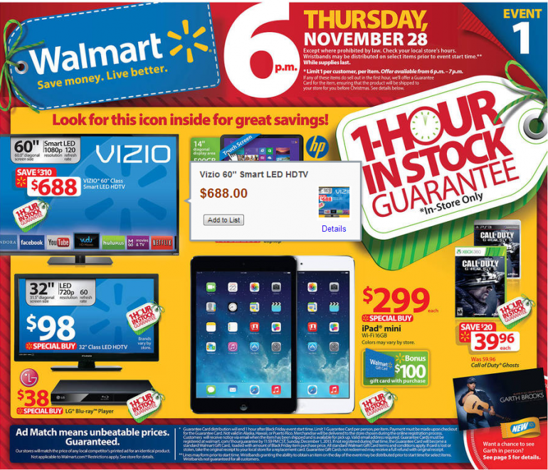 walmart black friday 2014 deals