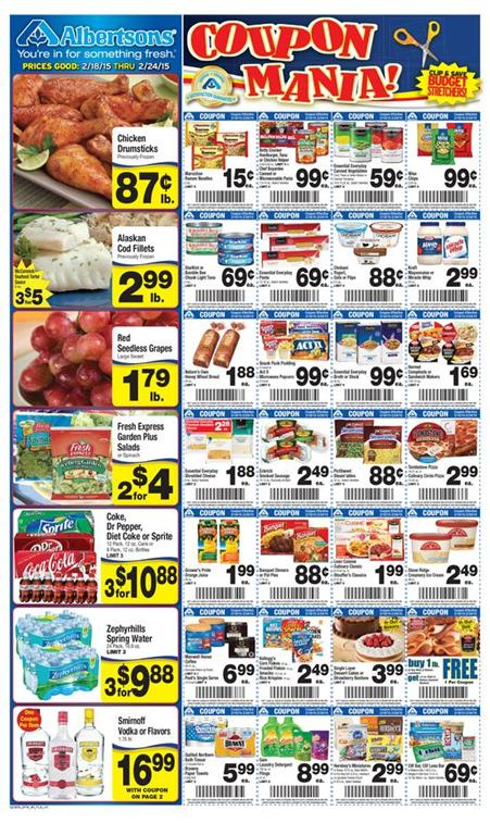 Albertsons Weekly Food Ad 2 18 2015