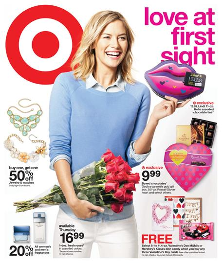 Target Weekly Ad Online Valentine's Day Gift Ideas 2015