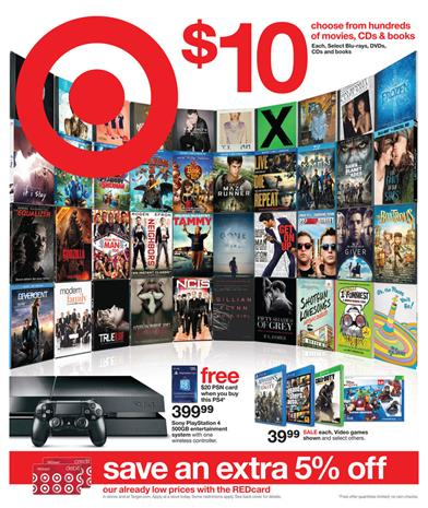 Target Weekly Ad Overview February 2015 Home Products and Clothing