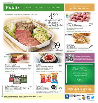 Publix Ad Weekly Meals and Deli Products March 2015