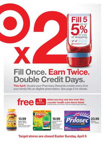 Target Ad Preview 5th April 2015