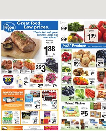 Kroger Ad and Ralphs Weekly Ad Products 6 May 2015