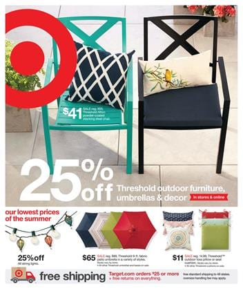 Target Ad Preview 17 May 2015 Outdoor and Furniture