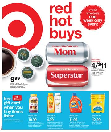 Target Weekly Ad Grocery 10 May 2015 Red Hot Buys