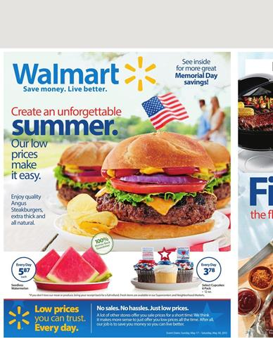 Walmart Weekly Ad Preview 17 5 2015 Outdoor Products