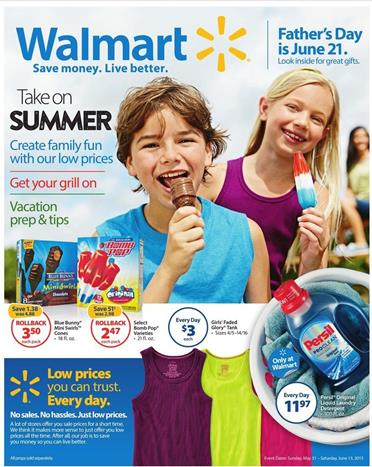 Walmart Weekly Ad Preview May 31 2015