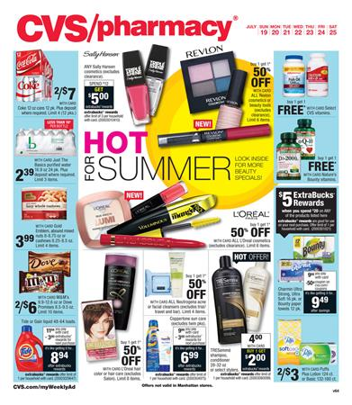 CVS Weekly Ad Preview Jul 19 - Jul 21 2015