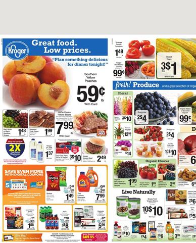 Kroger Weekly Ad 7 - 8 - 7 - 14 2015 Coupons and Savings