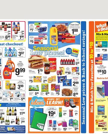 Kroger Weekly Ad Household Supplies Through Jul 21