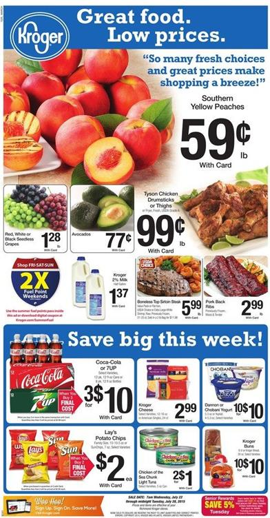 Sales circulars and sunday newspaper ads for grocery stores, BestBuy, Circuit City, CompUSA, Acme, Staples and more.
