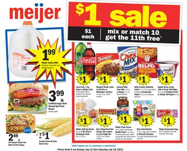 Meijer Ad Mix Or Match Sale Jul 17 Last Day !