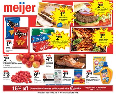 Meijer Ad Sale Range Through Jul 25