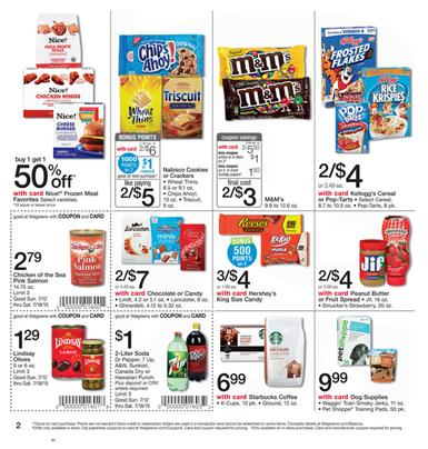 Walgreens Weekly Ad Coupons Jul 12 - Jul 18 2015