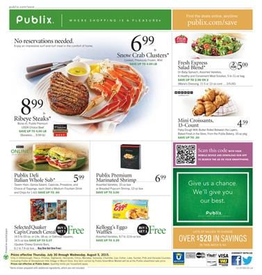 Publix Weekly Ad Preview Aug 12 - Aug 18 2015