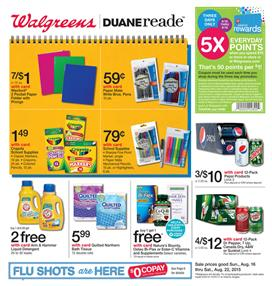 Walgreens Weekly Ad Aug 16 - Aug 22 Review