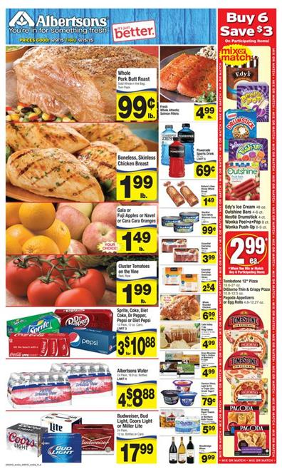 Albertsons Weekly Ad Preview Sep 9 - Sep 15 2015