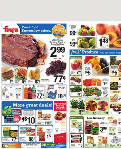 Fry S Food Weekly Ad Specials