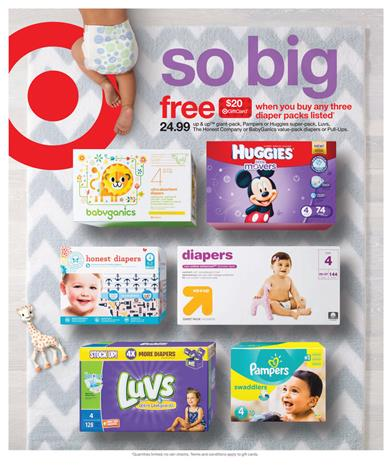 Target Weekly Ad Baby Care 6 - 12 September 2015