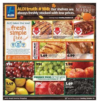 ALDI Weekly Ad Last Day Prices Oct 31