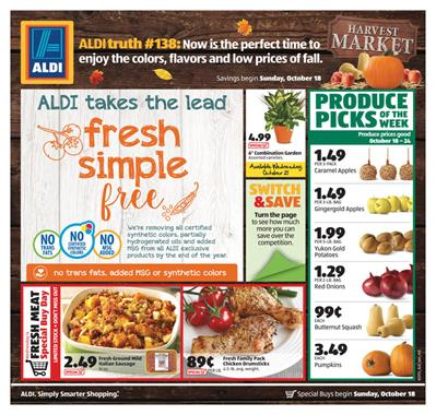 ALDI Weekly Ad Special Buys Oct 20 2015