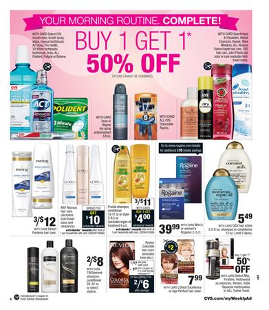 CVS Ad Pharmacy and Beauty Items of This Week Oct 5