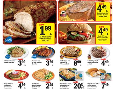 Meijer Weekly Ad Meat Prices Oct 10