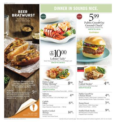 Publix Weekly Ad Ideas of Starters Oct 5 2015