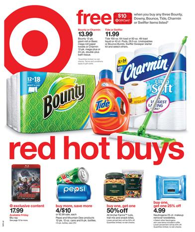 Target Ad Red Hot Buys Last Day Oct 2