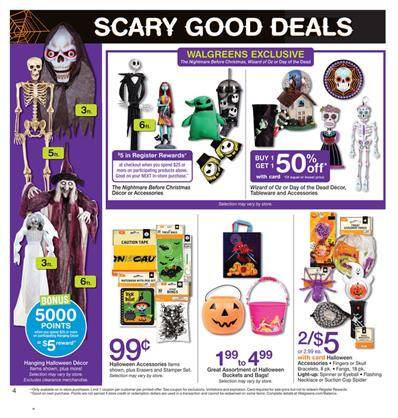 Walgreens Ad Halloween Deals Oct 20