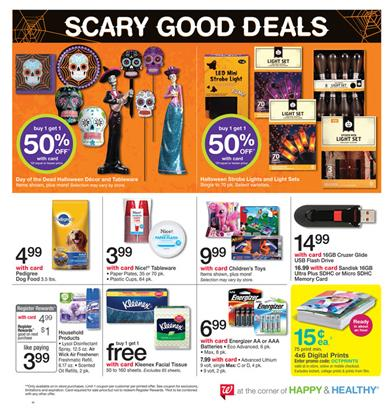 Walgreens Ad Last Day Prices Oct 10
