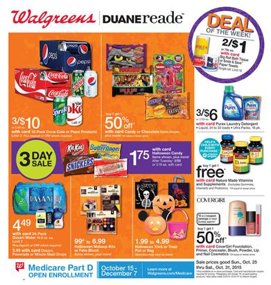 Walgreens Ad Products Latest Offers Oct 31