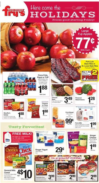 Fry's Holiday Weekly Ad Offers Nov 27 2015