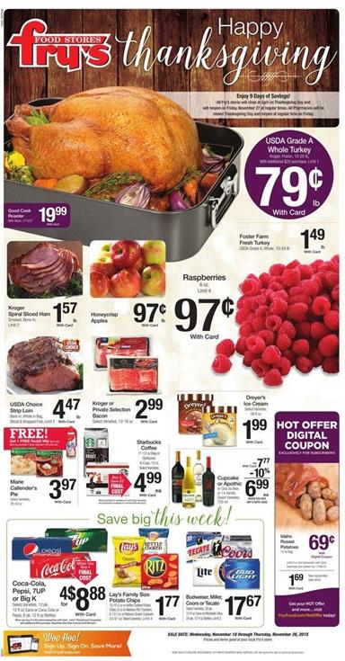 Thanksgiving List Of Food Items For Classroom