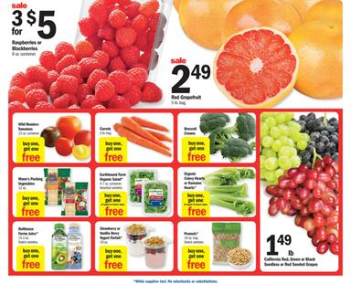 Meijer Ad Fresh Food and Meat Nov 13