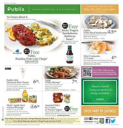 Publix Ad Products And Christmas Food Dec 4