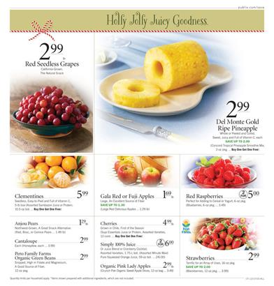 Publix Ad Food Holiday 2015