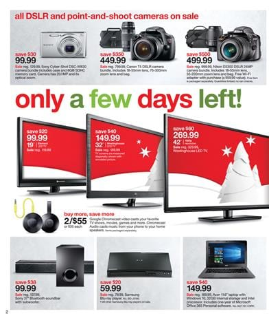 Target Electronic Sale and TVs Merry Christmas