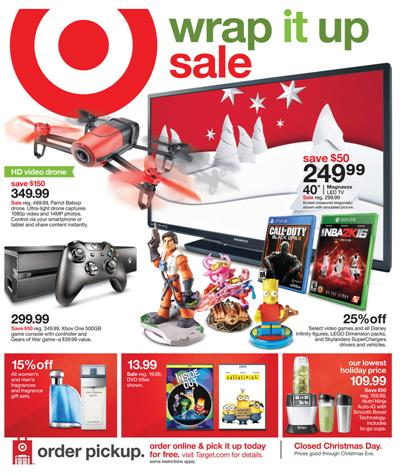 Target Gifts Holiday 2015