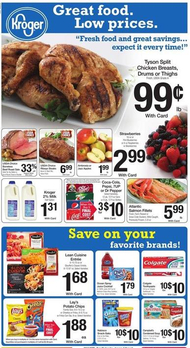 Browse Latest Kroger Food Jan 11 2016