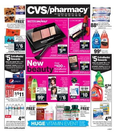 CVS Weekly Ad Preview Jan 10 2016