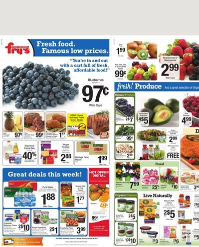 Fry's Food Products Jan 16 2016