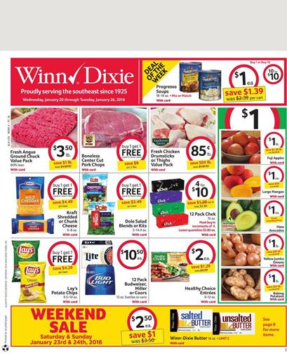 Dixie Weekly Ad Jan 23 2016