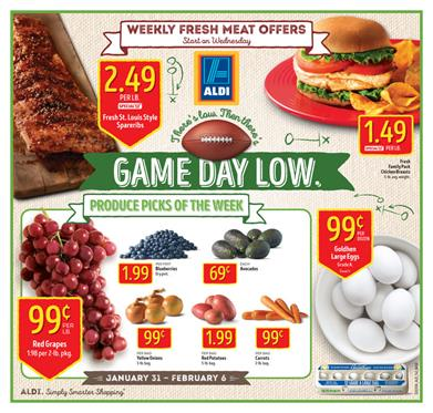 ALDI Special Buys Ad Game Day Snacks