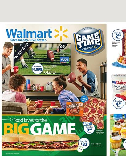 Delicious Food From Walmart Game Time