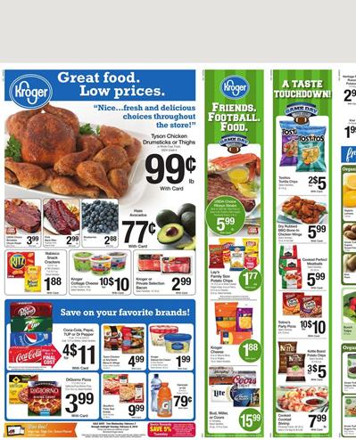 Kroger Weekly Ad Products Feb 3 2016