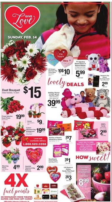 Ralphs Ad Valentine's Day Gifts 2016